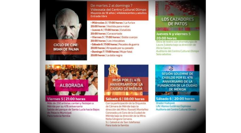 'Cazadores de patos', aniversario de Mérida y Filux en el Festival de la Ciudad 2018