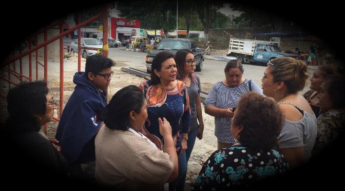 """Mala """"chamba"""" de Vila y secuaces en mercado de Chuburná: locatarios a Sofía Castro"""