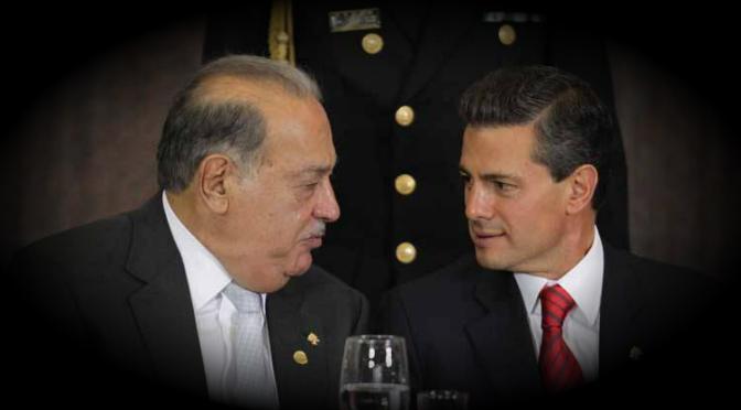 Con apoyo del gobiernito de Enrique Peña Nieto, Slim va por Televisa | Francisco Rodríguez