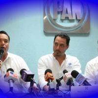 """Trío de """"fiesteros"""", la fórmula del PAN-Yucatán para elecciones 2018"""