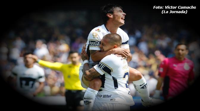 Chivas no pudo ganarle a los Pumas; empatan en CU a 1 gol