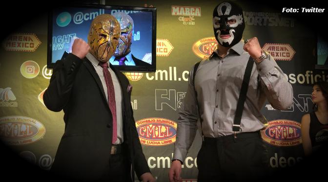 Ángel de oro y Cuatrero se jugarán las máscaras en la Arena Mexico