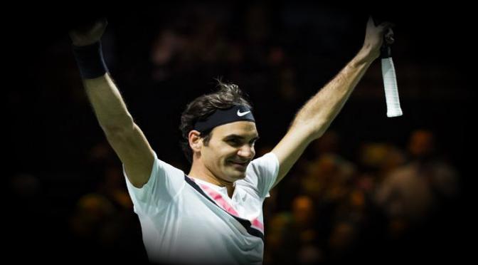 Federer, número uno en tenis, gana el ATP de Rotterdam
