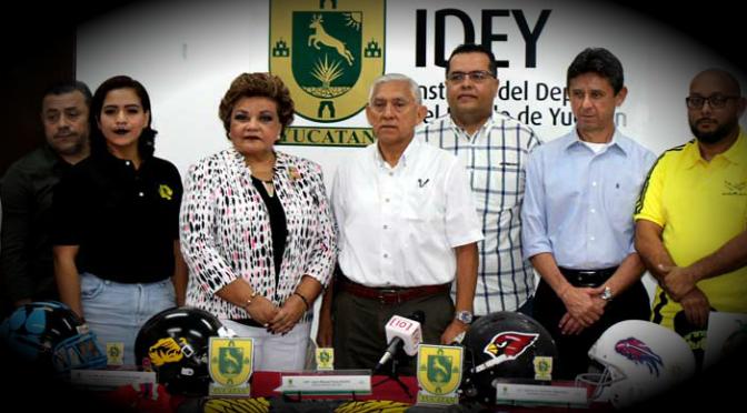 Yucatán será sede del II Torneo de Futbol Americano Femenil