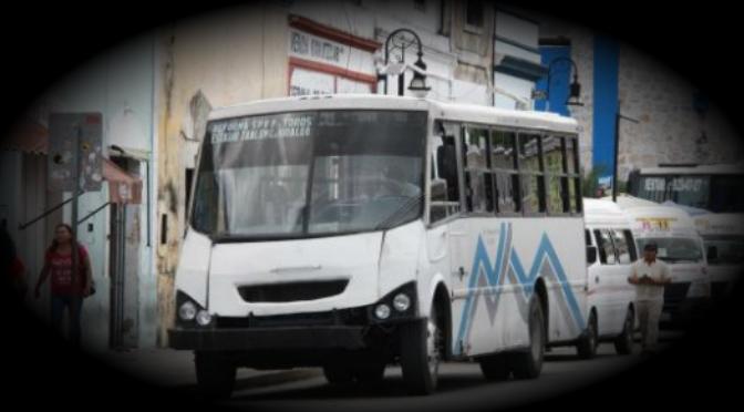 Precio del pasaje de transporte urbano, el sablazo que se espera