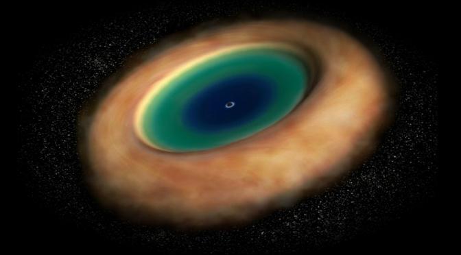 Detecta ALMA un 'toroide' alrededor de un agujero negro