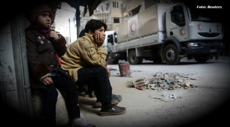 Unicef: Mil niños sirios muertos y heridos en enero y febrero de 2018