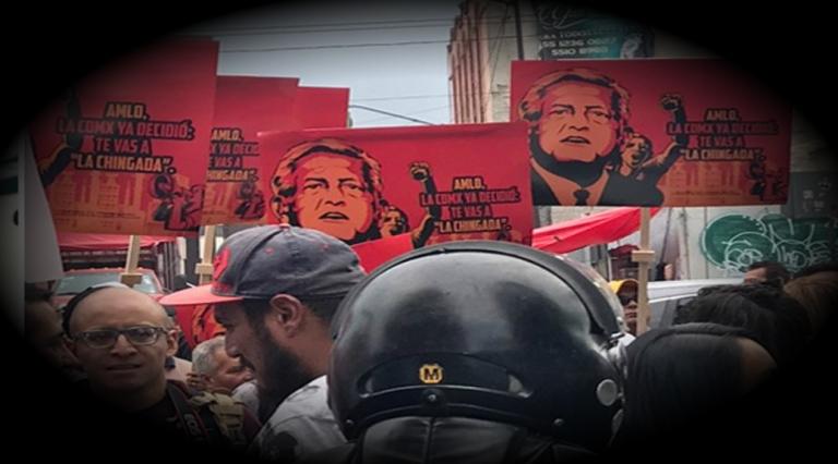 """Sindicato de la CDMX """"porros antiAMLO""""; MORENA pide no caer en provocaciones"""