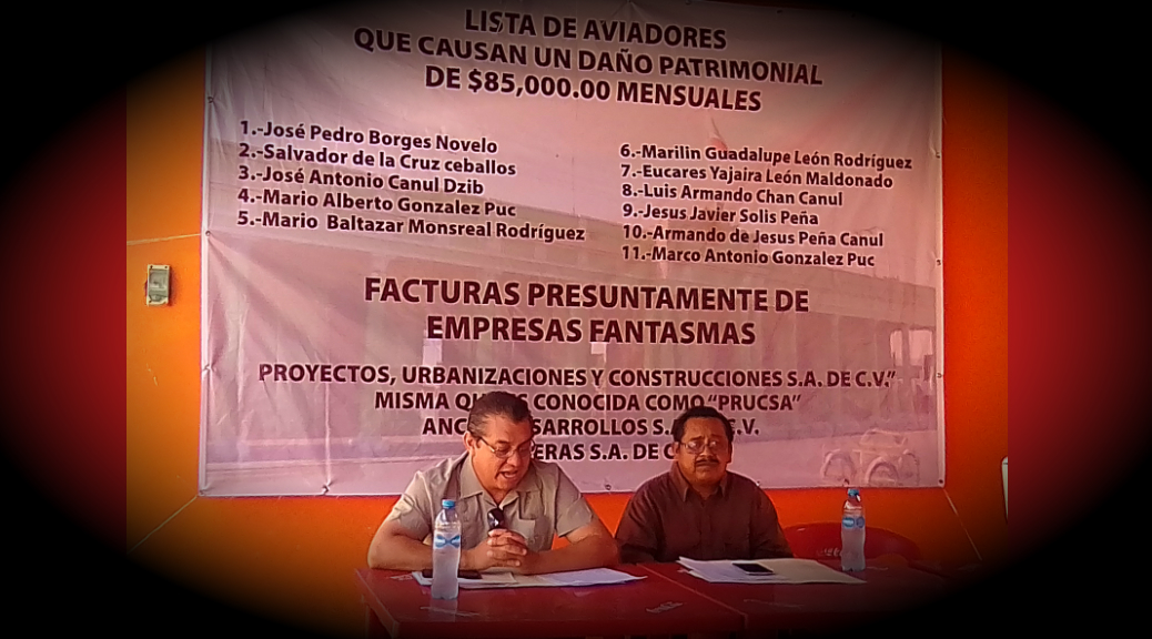Patrón Romero, otro panista corrupto, gastó 1 mdp anuales para pagar a aviadores en Hunucmá