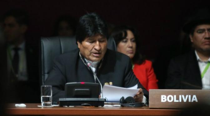 Evo Morales, líder boliviano por excelencia