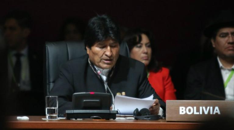 EE.UU., la principal amenaza contra la paz, la democracia y la libertad: Evo Morales
