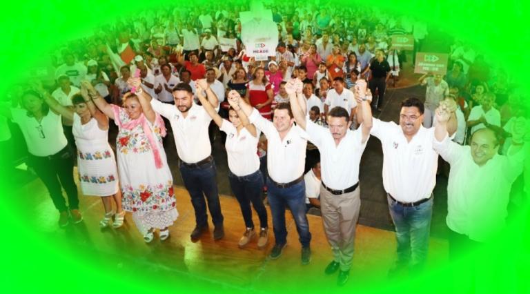 Prevenir el delito con todos los yucatecos, misión de Sahuí Rivero para 2018-2024