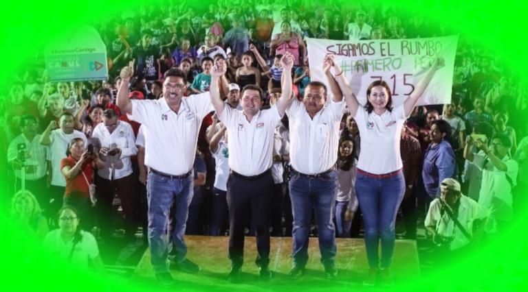 Sahuí Rivero sí tiene el apoyo de los habitantes de Peto, Tekax y Tzucacab