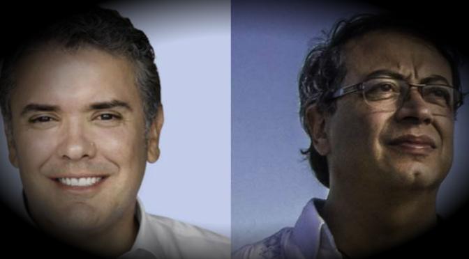 Duque y Petro a segunda vuelta de comicios presidenciales en Colombia