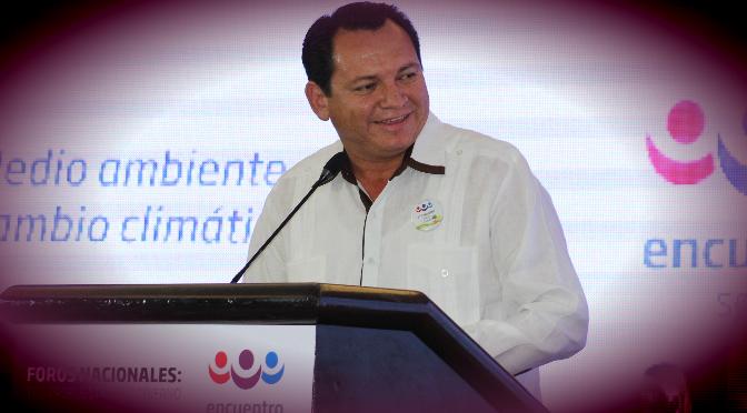 Yucatán será privilegiado en proyectos de medio ambiente: Joaquín Díaz