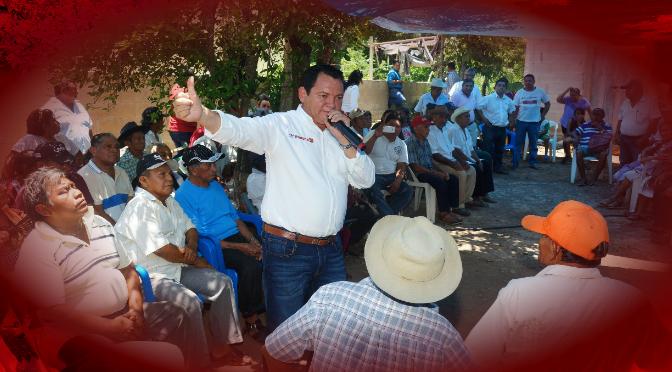 """""""Huacho"""" Díaz tendría el apoyo de ejidatarios"""