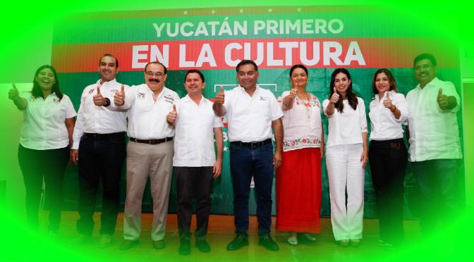 La cultura, herramienta de cohesión social: Mauricio Sahuí