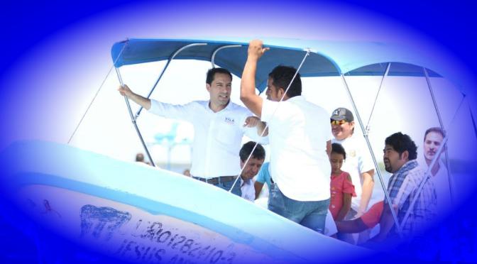 Promete Vila Dosal más ganancias para los trabajadores yucatecos