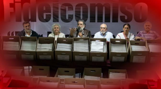 """Integrantes del fideicomiso """"Por los demás"""" deslindan a Morena"""