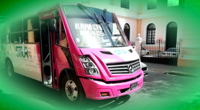 Adiós al apoyo a concesionarios del transporte en Mérida y zona metropolitana