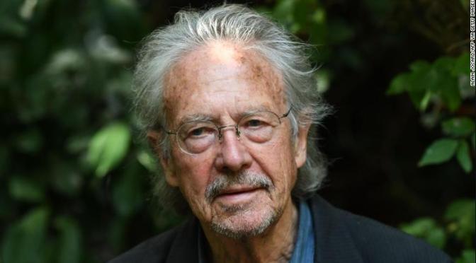 Peter Handke, Premio Nobel a la tradición literaria