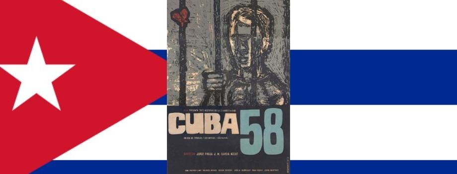 Cuba 58 | Cine cubano | Dirección de Jorge Fraga y José Miguel Ascot (1962)