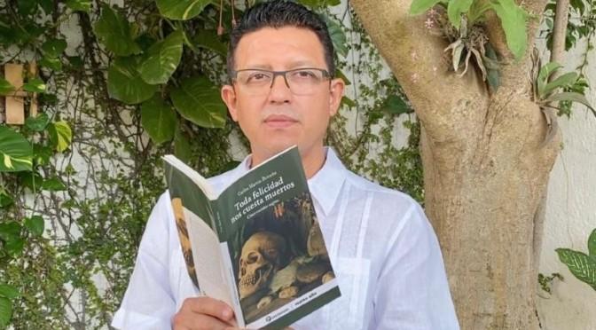 LOS CUENTOS, LAS HISTORIAS, LAS NOVELAS QUE TIENEN UNA BASE REAL, SON PARA EL LECTOR COMO UN NOCAUT: CARLOS MARTÍN BRICEÑO | ARMANDO PACHECO