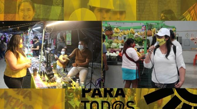 Apoyo a gente emprendedora de todo Yucatán, prioridad para Adriana Vargas | Armando Pacheco