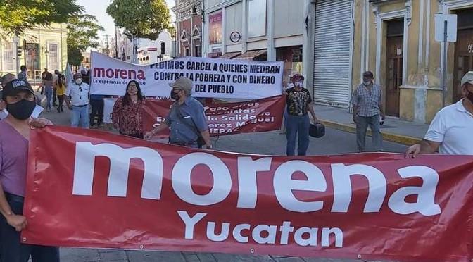 MORENISTAS DEBEN VIGILAR EL PODER, NO VIVIR DEL PODER