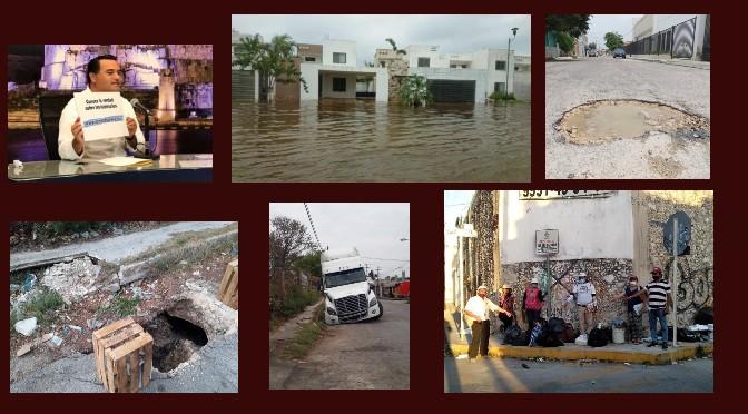 Renán Barrera Concha, su «Mérida de diez» entre baches, basura e inundaciones | Armando Pacheco
