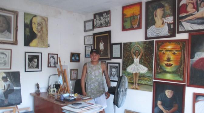 El placer de retratar con manos y pinceles | Jesús Solís Alpuche